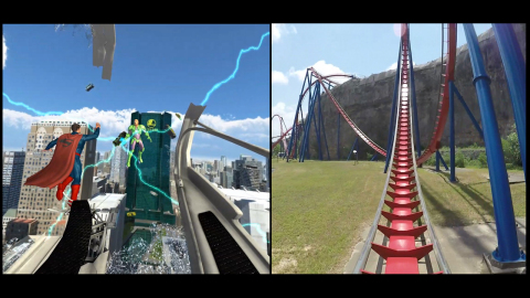 superman rollercoaster six flags