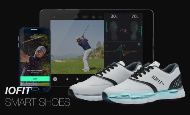 smart golf shoes iofit