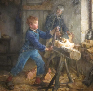 The Young Sabot Maker