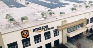 amazon fulfillment center solar power