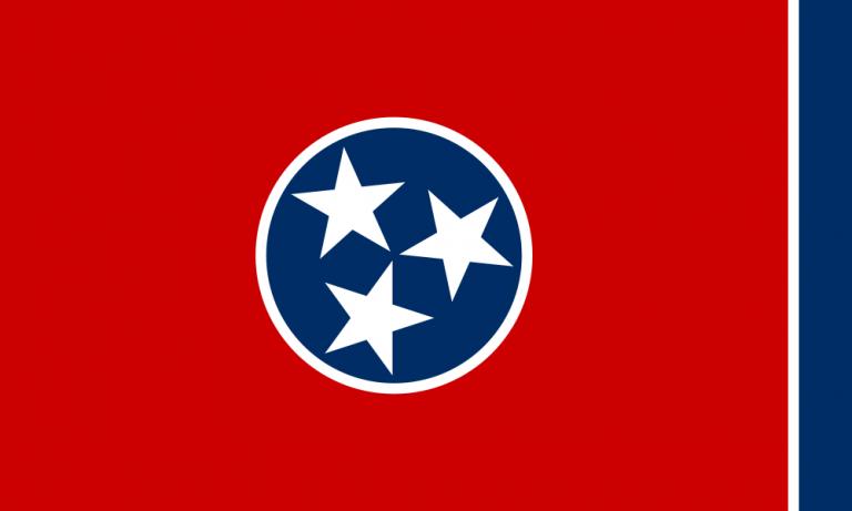 tn state flag public domain