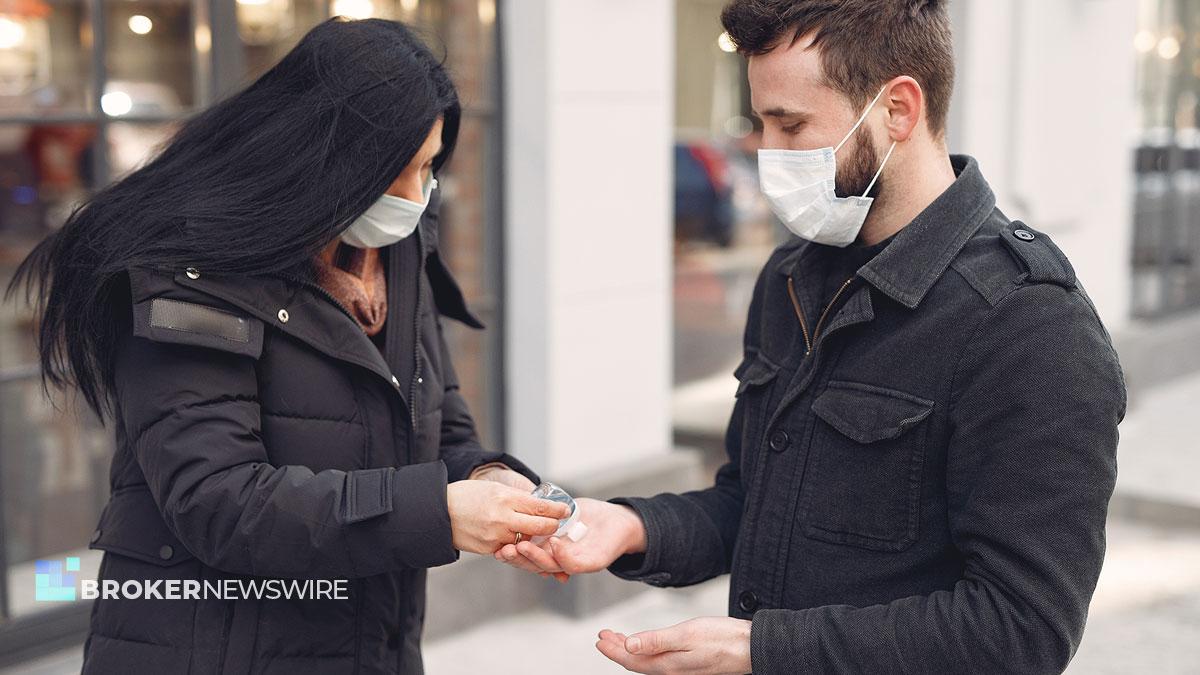 masks to New York by coronavirus