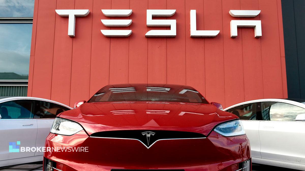 Tesla quarterly profit